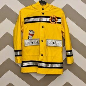Boys Girls Rain Jacket Costume Reflective Strips